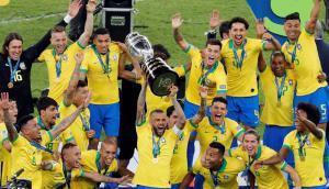Brasil le ganó 3-1 a Perú y obtuvo su novena Copa América. Foto: EFE