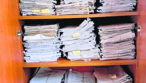 El placar donde fueron encontrados los expedientes y documentos sin procesar. Foto: El País