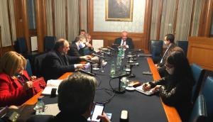 Reunión del Directorio del Partido Nacional. Foto: prensa Partido Nacional