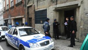 Operativo policial. Foto: Francisco Flores