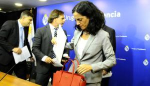 Azucena Arbeleche, ministra de Economía. Foto: Darwin Borrelli