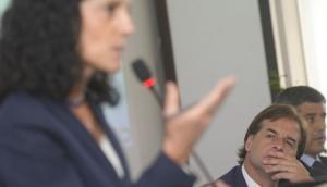 La ministra Arbeleche será la encargada de presentar las nuevas medidas económicas. Foto: Leonardo Mainé