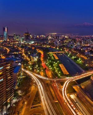 Santiago de Chile. Foto: Gentileza del autor