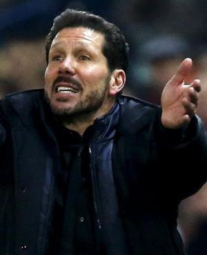 """Diego Simeone. El """"Cholo"""" da pelea en la Liga Española y en la Champions."""