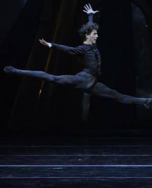 El bailarín Ciro Tamayo. Foto: Difusión