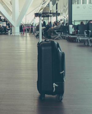 El hombre que viajaba dentro de la maleta recibió una sentencia de ocho meses de prisión. Foto: Pixabay