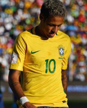 Neymar. Foto: Nelson Almeida / AFP.