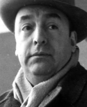 Pablo Neruda en 1952. Foto: Getty Images