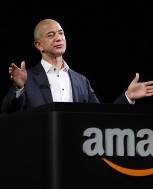 Jeff Bezos, CEO de Amazon. Foto: AFP