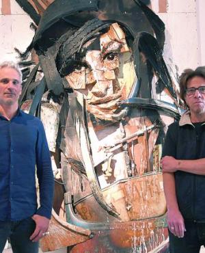 Javier Abdala y Pedro Dalton. Foto: Ariel Colmegna