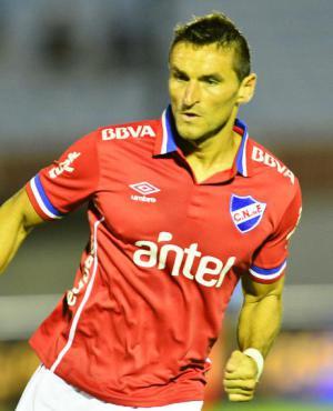 Gonzalo Bergessio tuvo un buen estreno como titular en Nacional
