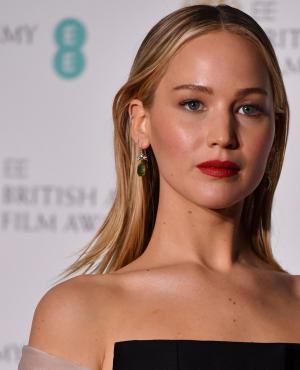 Jennifer Lawrence en los BAFTA 2018.