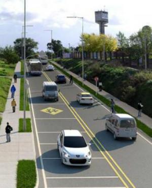 Obra proyectada para Avenida San Martín, entre Domingo Arena y Aparicio Saravia. Foto: IMM