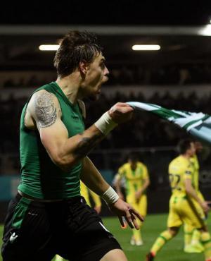 Gol decisivo de Sebastián Coates para la victoria del Sporting de Lisboa