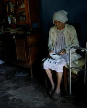 El 61% de los venezolanos dicen que se acuestan con hambre. Foto: Reuters