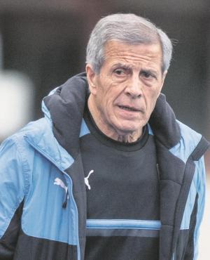 El maestro Tabárez. Foto: EFE