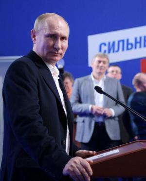 """""""Rusia está condenada al éxito. Debemos mantener la unidad"""", dijo el mandatario. Foto: EFE"""