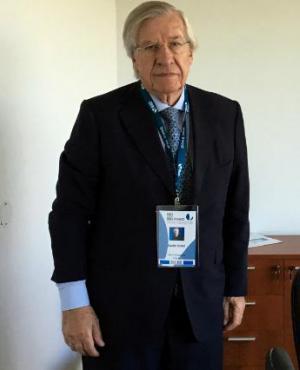 Danilo Astori está en Mendoza en la reunión anual del BID. Foto: Reuters
