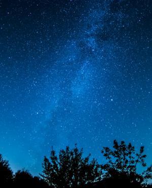 Cielo estrellado. Foto: Pexels
