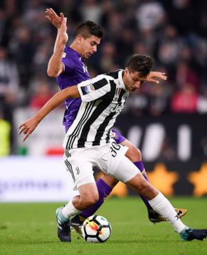 Rodrigo Bentancur mostró todo su talento ante Fiorentina