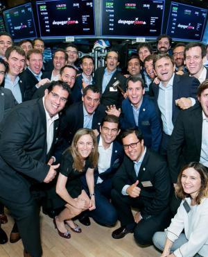 Debut. El miércoles, el Despegar estuvo presente en el IPO en Wall Street. (Foto: Gentileza Despegar)