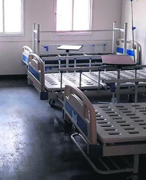 Hace dos meses que seis reclusos están trabajando para construir una sala en el Maciel. Foto: mininterior.gub.uy