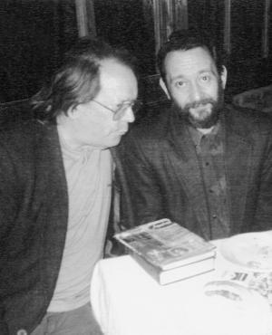 Washington Benavides y Eduardo Darnauchans