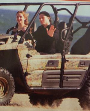 Francisco Tinelli y su novia
