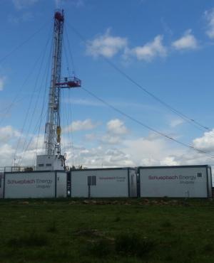 La empresa que realiza la perforación en busca de hidrocarburos