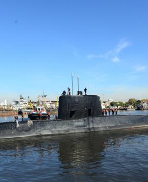 El submarino ARA San Juan navegaba hacia Mar del Plata. Foto: Reuters