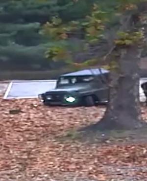 Soldado de Corea del Norte escapa en la frontera. Foto: AFP