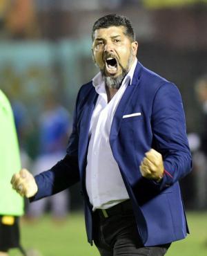 Leonardo Ramos dijo que Peñarol no jugó como era habitual. Foto: Marcelo Bonjour