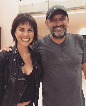 Patricia Wolf junto al Puma Goity. Foto: Instagram Patricia Wolf