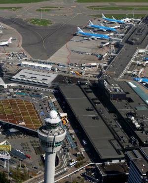 Aeropuerto de Schiphol. Foto: Reuters