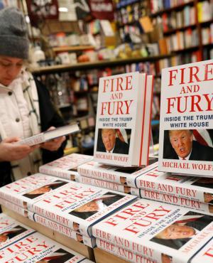 """""""Fuego y Furia"""": Varias librerías de EE.UU. tenían el cartel de """"agotado"""". Foto: reuters"""