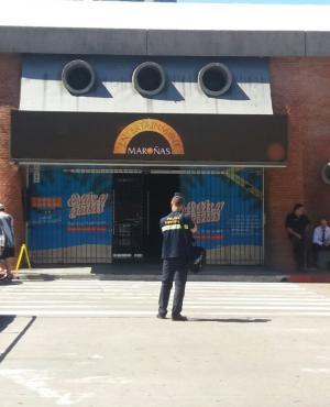 Policía investiga asalto a casino de Buceo. Foto: El País