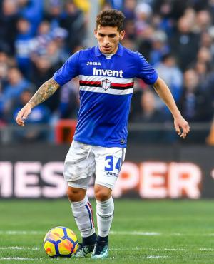 Lucas Torreira, el eje del juego de la Sampdoria