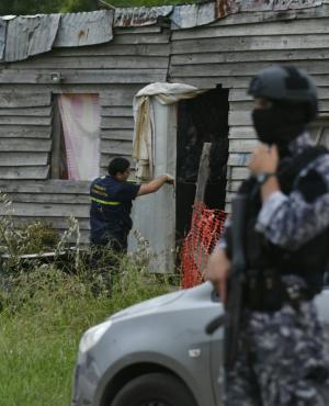 """La casa en donde estaba escondido el """"Kiki"""". Foto: Fernando Ponzetto"""