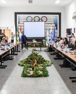 Cumbre en Asunción, Paraguay. Foto: Cancillería de Paraguay.
