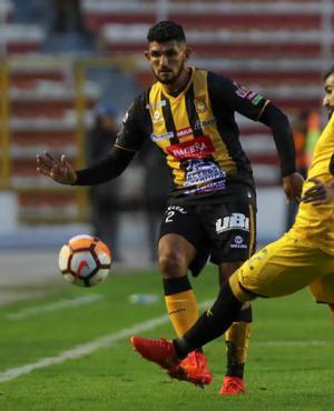 The Strongest superó por mínima a Peñarol en La Paz. Foto: EFE