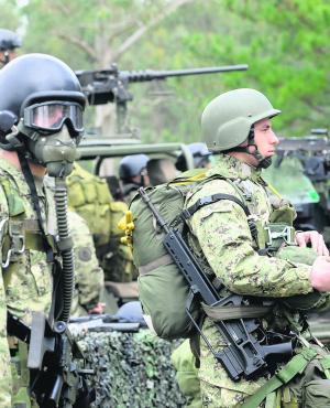 Preparación: una unidad del Ejército se ha especializado en el combate táctico antiterrorista. Foto: Darwin Borrelli