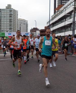 La Maratón Internacional de Punta del Este tuvo la disputa de su edición número 12. Foto: Ricardo Figueredo.