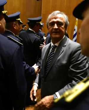 Larrañaga dijo que la cercanía de la Policía con la ciudadanía generó la baja de delitos. Foto: Fernando Ponzetto