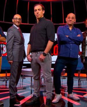 Maxi de la Cruz, Marcel Keoroglian, Germán Medina, Leo Pacella y Diego Delgrossi. Foto: Canal 12