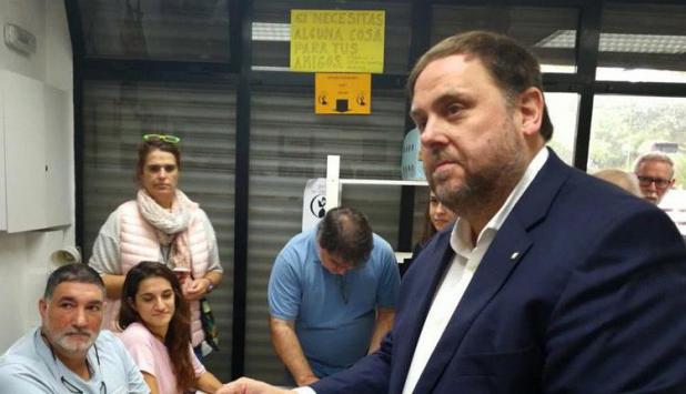 Oriol Junqueras. Foto: EFE