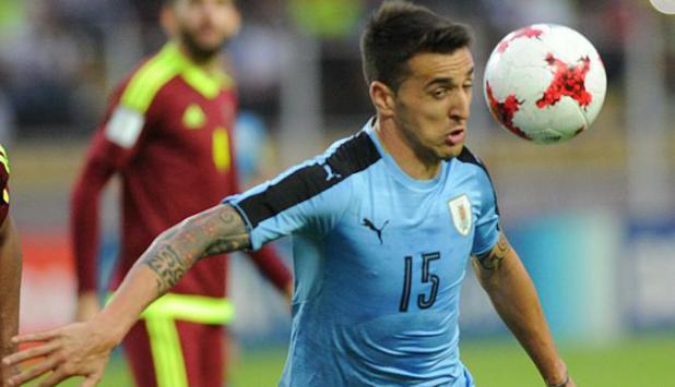Matías Vecino. Foto: AFP