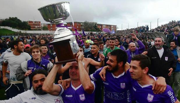 Defensor campeón del Apertura. Foto: Fernando Ponzetto