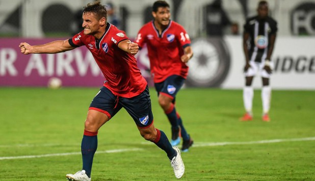 Gonzalo Bergessio en el Nacional vs. Zamora
