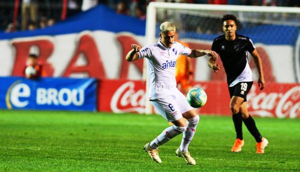 Gabriel Neves jugó algunos minutos contra Danubio y podría volver a la titularidad. FOTO: Gerardo Pérez.