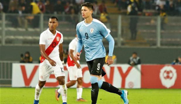 Darwin Núñez - Uruguay vs. Perú - Foto: @Uruguay